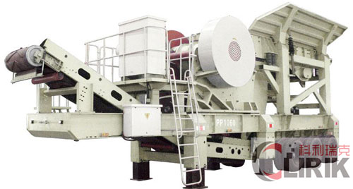 Hydraulic Mobile Crushing Plant